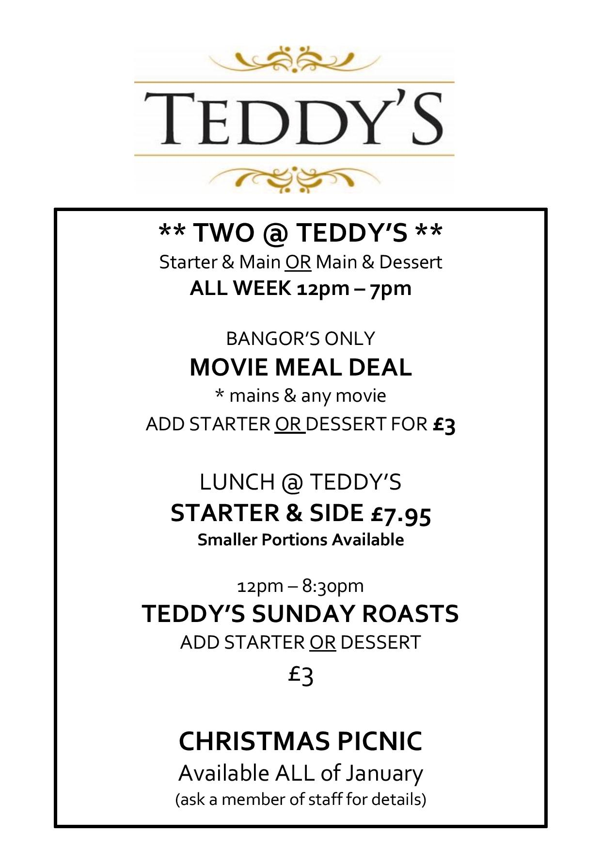 Teddys Offers