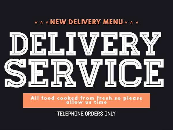 Restaurant Food delivery service bangor